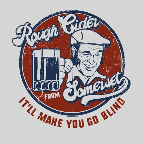 Rough Somerset Cider T-Shirt